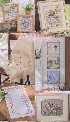 HERB FLOWERS n2 Japanese Craft Book by PinkNelie on Etsy