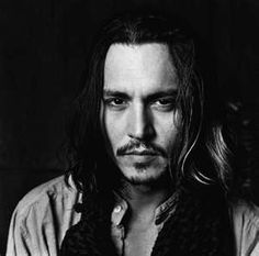 Johnny Depp - Black and white portrait. Johnny Depp, Here's Johnny, Beat Generation, Jack Kerouac, Black White Photos, Black And White, Beautiful Men, Beautiful People, Hello Beautiful