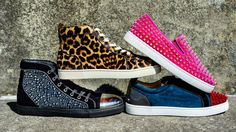 Exciting and bold sneakers are becoming widely available for men as well as women. No longer are only women given fun options to add to the wardrobe, especially in the shoe department. Designers in all price ranges are jumping in, offering studs, crystals, wild prints, and truly unique footwear. This shows that there is less of a desire for men to be plain and boring, and they deserve options like their female companions. -Gordon S.