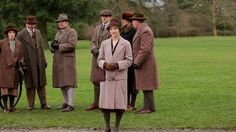 ITV - Downton Abbey...Will this new face be welcome at Downton Abbey?..