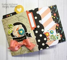 Mini Gifting Album by design team member Shellye McDaniel