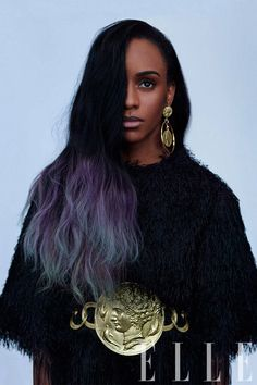 """Angel Haze: The Outlaw On revealing her personal struggles in her music… """"I came out of the gate projectile vomiting my demons all over the place,"""" says Haze. """"It felt like immediately a weight had been lifted."""""""