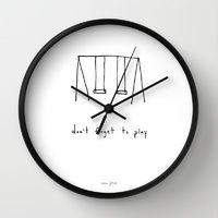 Clocks | Wall Clocks | Society6