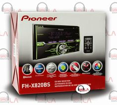 Sourcing-LA: PIONEER FH-X820BS In-DASH 2-DIN CD MP3 USB CAR STE...
