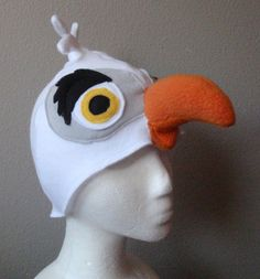 Scuttle Wings Hat Feet. Seagull Bird Costume by lilecreations