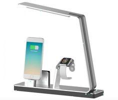 "NuDock: la ""Power Station Lamp"" per iPhone e Apple Watch"
