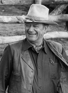 John Wayne -  Beautiful Smile and a Wonderful laugh to go with it!!