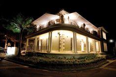 Dunbar House by night