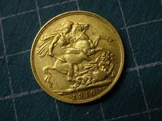 Gold #sovereign 1910 #edward vii coin 'die s',  View more on the LINK: http://www.zeppy.io/product/gb/2/302143199479/