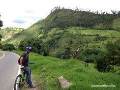 Bicycle tour & meeting a local artist in Popayán, Colombia