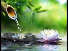 Solfeggio 528 Hz | Water Sounds | Tibetan bowls | OM Mantra ➤ Positive Healing Energy - YouTube