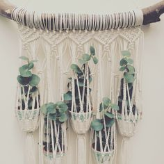 Details! This plant hanger is available in my Etsy shop Macrame Adventure