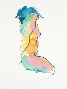 Nude Attitude 124 - Limited Edition Print, Bill Buchman $150 Size: 19 H x 13 W x 0 in
