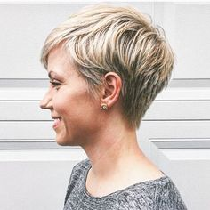 Here, you'll locate the most prominent short hairstyles only for your hair type running from current, edgy and to exemplary. Short Straight Hair, Short Hair Cuts For Women, Short Hairstyles For Women, Straight Hairstyles, Short Hair Styles, Cropped Hair Styles For Women, Short Cropped Hair, Fashion Hairstyles, Short Haircut