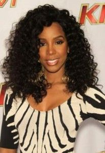Black Curly Haircut Images