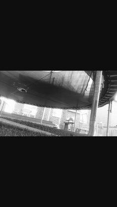 Under trampoline