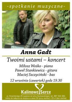 #AnnaGadt Twoimi ustami #koncert w #KalinoweSerce