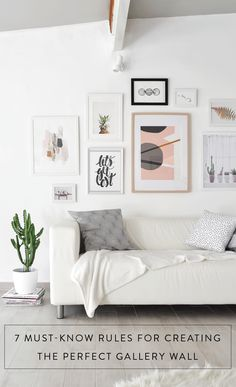7 must-know tips for creating the perfect gallery wall! Photography: Passion shake