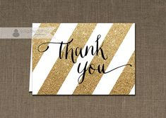 digibuddha THANK YOU CARD Custom Coordinating by digibuddhaPaperie