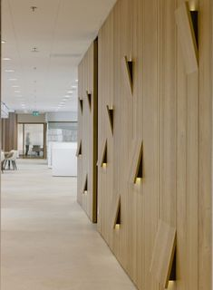 Rabobank Company Restaurant, Head office, Utrecht, NL. Interior design and project management by Heyligers design+projects.