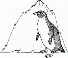 Printable Penguin Coloring Pages. Here you can find large coloring pictures to print and color. We have been able to get to know the penguins through documentar Penguin Coloring Pages, Coloring Pages Winter, Family Coloring Pages, House Colouring Pages, Love Coloring Pages, Truck Coloring Pages, Christmas Coloring Pages, Printable Coloring Pages, Coloring Pages For Kids