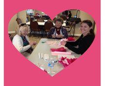 Valentine's Day prep at Creekside Oaks