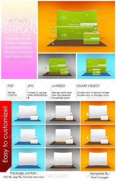 Booth Template Part 6  #GraphicRiver