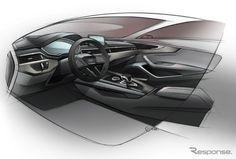 アウディ A4 新型…サイズは大きく、車重は軽く[写真蔵]