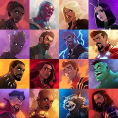 Where is Gamora? Who is Gamora? Why is Gamora? Avengers Cartoon, Avengers Art, Marvel Fan, Marvel Dc Comics, Marvel Universe, Spiderman, Batman, Fanart, Nerd