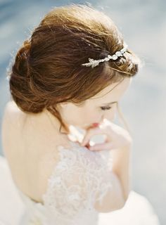 leaf & crystal headband by hushed commotion / image by jen huang