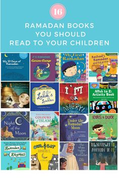 16 Ramadan Related Books You Should Read to your Children