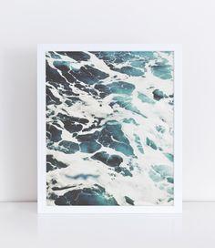 Ocean Print, Sea Wall Art, Ocean Nursery Decor, Wave Photography, Nautical Printables, Nautical Prints, Ocean Wall Art, Sea Poster, Sea Art. by lushaprints on Etsy https://www.etsy.com/listing/273456878/ocean-print-sea-wall-art-ocean-nursery