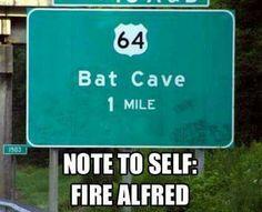 #batman #alfred #oops