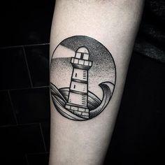 WEBSTA @ oneoninetattoo - #tattoo by  @misssita  Little light house for Sophie…