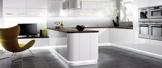 Beautiful kitchen designs have neat, clean and well organized appearance in creating kitchen space free from clutters. Kitchen design has to be well Benchmarx Kitchen, Order Kitchen, Modern Kitchen Cabinets, Kitchen Cabinet Colors, Kitchen Units, Kitchen Flooring, Kitchen Furniture, Kitchen Interior, Kitchen Island