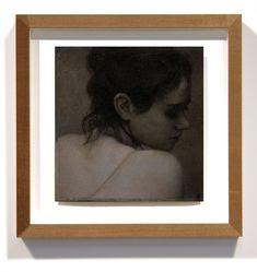 """The Night Draws Down II 8 x 8"""" (20 x 20cm) Oil, wax and charcoal on muslin and Mylar 2020 www.fletchersibthorp.com Artworks, Charcoal, Wax, Night, Drawings, Sketches, Drawing, Portrait, Draw"""