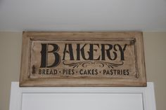 "I added ""Bakery Sign 