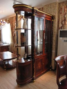 1000 Images About Antique Curio Cabinet On Pinterest