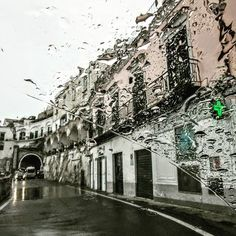 Today's theme is at 📷 📷 📷 📷 📷 A rainy drive along the Amalfi Coast in Italy last fall. It still felt like summer and the sun came out, eventually. Las Vegas Trip, Travelogue, Amalfi Coast, European Travel, Travel Photos, Travel Photography, Felt, Entertainment, Community