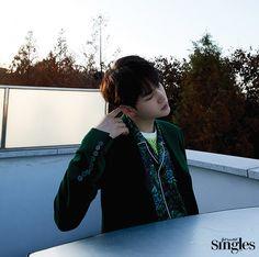 Suga (BTS) - Singles Magazine January Issue '16