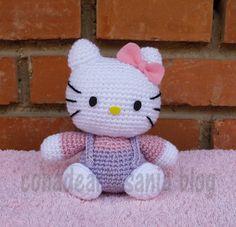 con A de artesanía: Hello Kitty