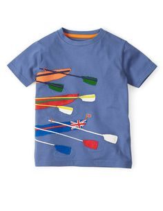 Sports Appliqué T-shirt 21764 Graphic T-Shirts at Boden