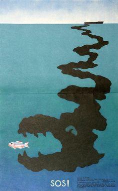 Soviet environmental poster, 1980s Environmental Posters, Environmental Pollution, Protest Art, Protest Posters, Social Awareness Posters, Art Environnemental, Theme Tattoo, Propaganda Art, Grafik Design