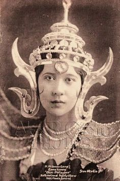 MANILA CARNIVALS 1908-1939: 68. 1932, Miss Philippines of the Manila Carnival, EMMA GONZALES ZAMORA