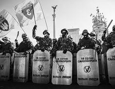 Via Laurent Brayard compagnies d'Autodéfense du #Maïdan, l'#Ukraine brune de nos journalistes