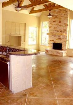 Stained Concrete by Peyton and Associates creates magnificent acid stained concrete floors for clients in and near Houston. Acid Stained Concrete Floors, Polished Concrete Flooring, Concrete Color, Concrete Staining, Stain Concrete, Browning, Boudoir, Basement Remodeling, Remodeling Ideas