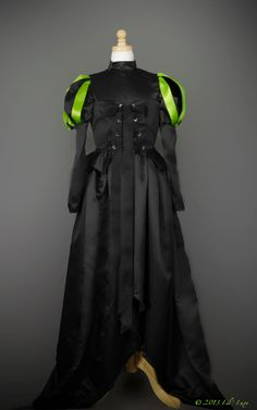 WOMENS Wicked Witch Costume for Adult Halloween Costume like the Wicked Witch of the West in Black and Green