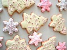 Christmas cookie decoration.