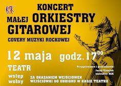 Koncert Małej Orkiestry Gitarowej, 12.05.2015 r. Teatr w Kwidzynie.