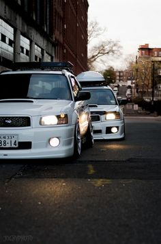 Japanese Forester CrossSport by JochyPhoto, via Flickr